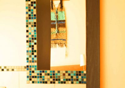 Detalle baño - Casa Kalfu