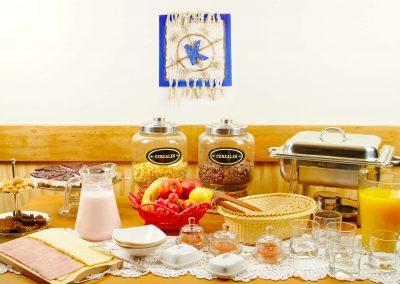 Desayuno - Casa Kalfu