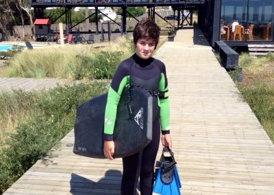 Bodyboarder Hotel Punta Sirena