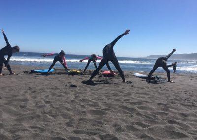 Clase de surf Hotel Punta Sirena