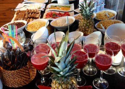Desayuno verano Hotel Punta Sirena