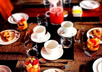Desayuno Hotel Punta Sirena