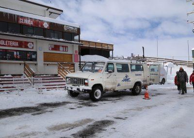 Centros de Ski _ Estacionamiento El Colorado 03