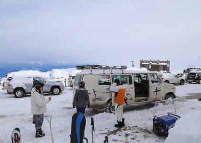 Centros de Ski _ Estacionamiento El Colorado Ski Center 02