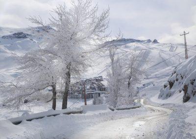 NIEVE Camino a Centros de Ski 01